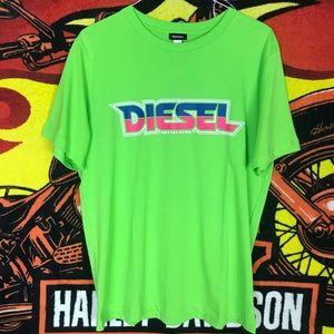 Diesel BeachWear Script Print Only The Waves Shirt